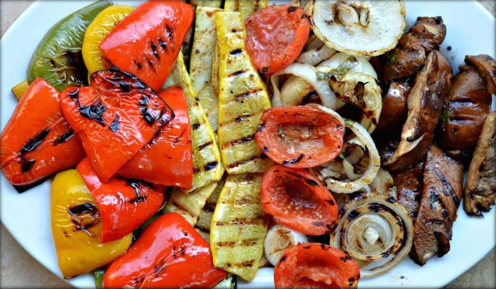 f factor grilled vegetables